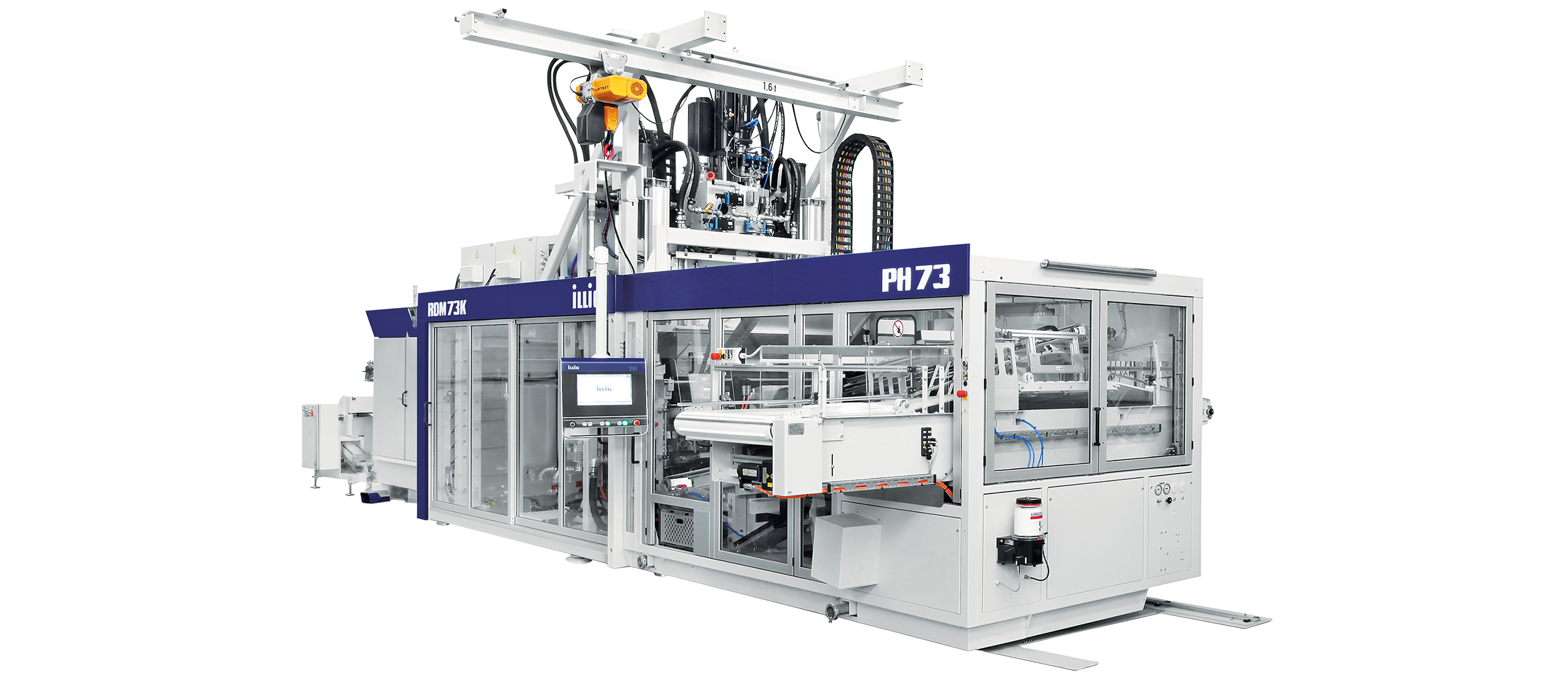 ILLIG IC-RDM 73K automatic roll-fed machine for forming/punching operation | © ILLIG Maschinenbau