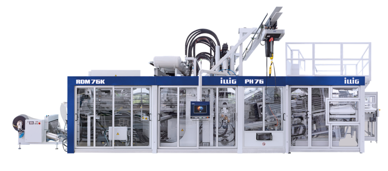 ILLIG RDM 76K 4G automatic roll-fed machine 4th generation for forming/punching operation | © ILLIG Maschinenbau GmbH & Co. KG
