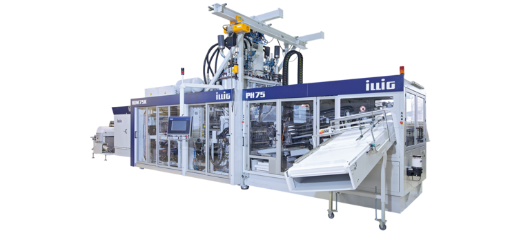 ILLIG IC-RDM 75Kc automatic roll-fed machine for forming/punching operation | © ILLIG Maschinenbau
