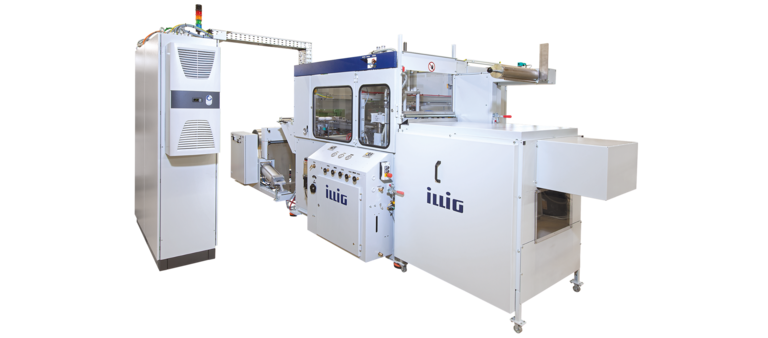 ILLIG RDM 37/10 automatic roll-fed machine for forming/punching operation | © ILLIG Maschinenbau
