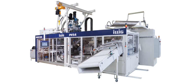 ILLIG RDM 54K automatic roll-fed machine for forming/punching operation | © ILLIG Maschinenbau