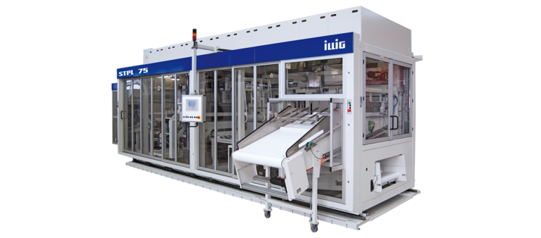 ILLIG STPL 75b stacking device | © ILLIG Maschinenbau