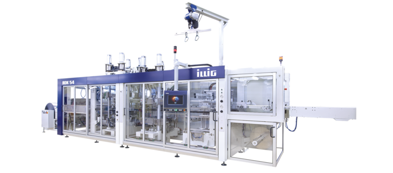 ILLIG IC-RDK 54k automatic roll-fed machine separate forming and punching | © ILLIG Maschinenbau