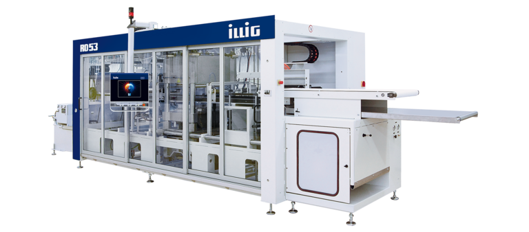 ILLIG IC-RD 53d automatic roll-fed machine separate forming and punching  | © ILLIG Maschinenbau