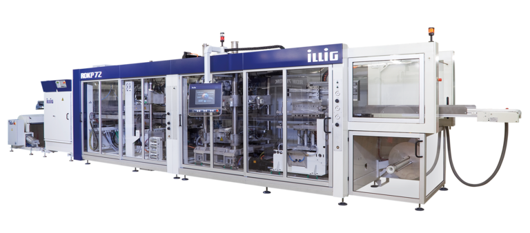 ILLIG IC-RDKP 72k automatic roll-fed machine separate forming and punching  | © ILLIG Maschinenbau