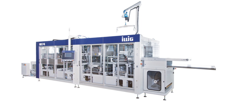 ILLIG IC-RD 74d automatic roll-fed machine separate forming and punching  | © ILLIG Maschinenbau