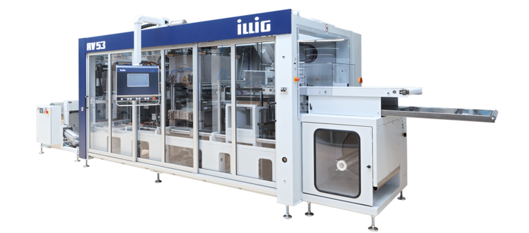 ILLIG IC-RV 53d automatic roll-fed machine separate forming and punching  | © ILLIG Maschinenbau