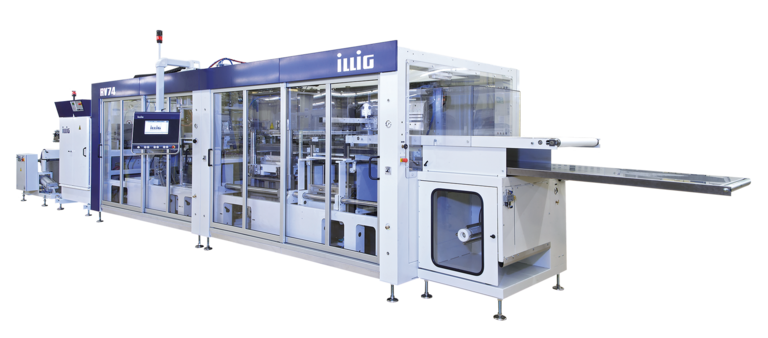 ILLIG IC-RV 74d automatic roll-fed machine separate forming and punching  | © ILLIG Maschinenbau