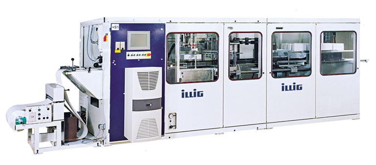 ILLIG RV 53 automatic roll-fed machine separate forming and punching  | © ILLIG Maschinenbau