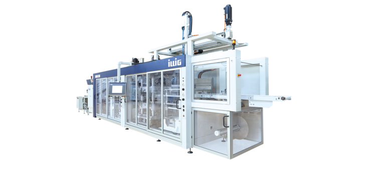ILLIG IC-RDK 80k automatic roll-fed machine separate forming and punching  | © ILLIG Maschinenbau